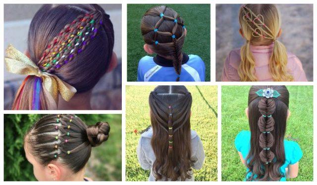 15 Erstaunliche Einfache Sommerliche Frisuren Für Mädchen