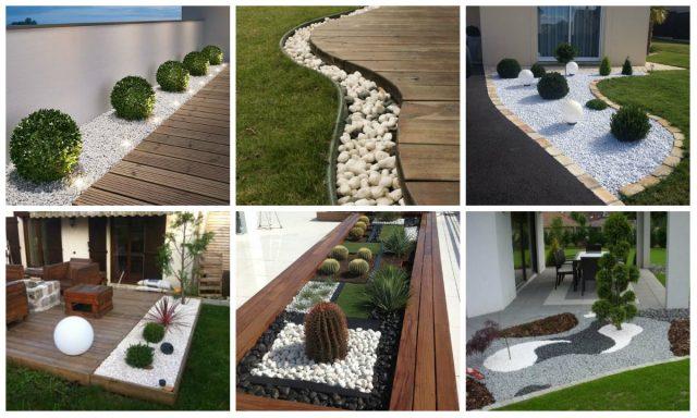 Diy Gartendekoration Mit Weissen Steinen Nettetipps De