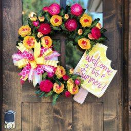 Creative summer wreath ideas for front door 02.jpg
