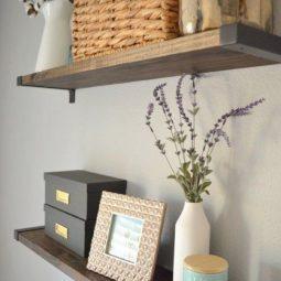 Diy rustic bookshelf with ikea ekby brackets 280489883026808463.jpg