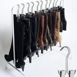 Hanging boots @ remodelaholic.jpg