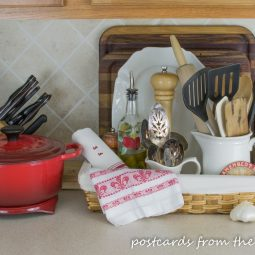 Kitchen organization ideas counter top.jpg