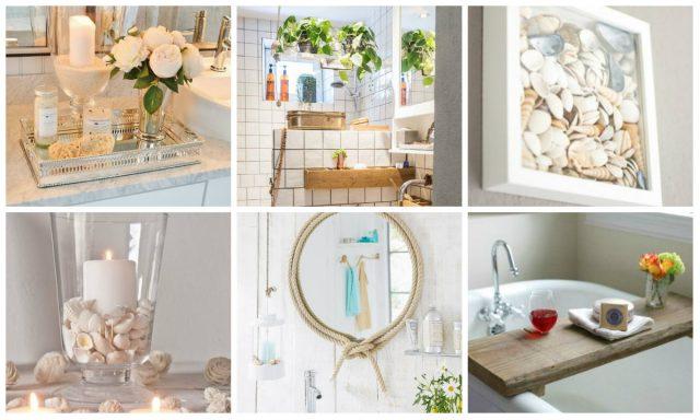Einfache DIY Badezimmer Dekoration - nettetipps.de