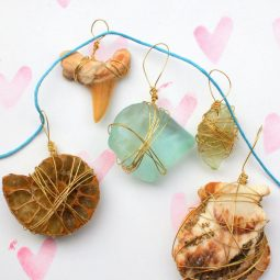Wire wrapped nature pendants.jpg