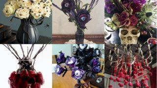 kreative blumenarrangements fur halloween