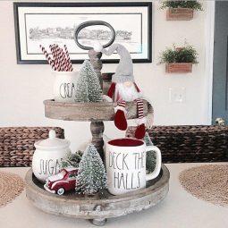 Stunning christmas decor ideas with farmhouse style for living room 11.jpg