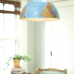 40 useful globe art projects to restore old globes 22.jpg