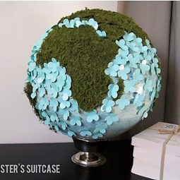 40 useful globe art projects to restore old globes 24.jpg