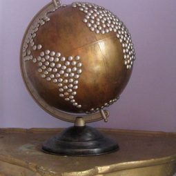40 useful globe art projects to restore old globes 32.jpg