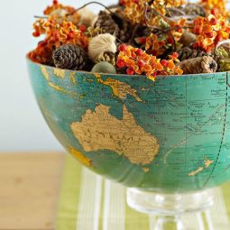 40 useful globe art projects to restore old globes 35.jpg