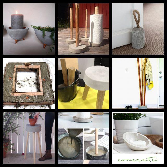 Basteln mit Beton - 14 Kreative Deko-Ideen für dein Zuhause ...