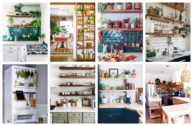 Eine kleine Küche platzsparend und im Stil einrichten ...