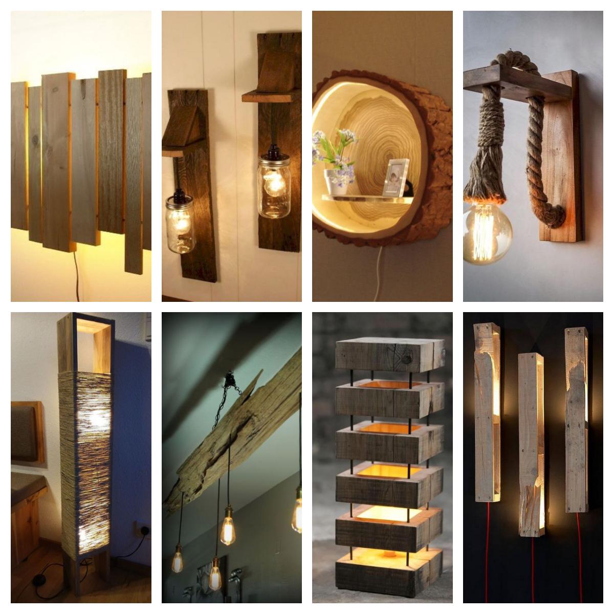 lampen aus holzselber bauen 15 interessante diyideen