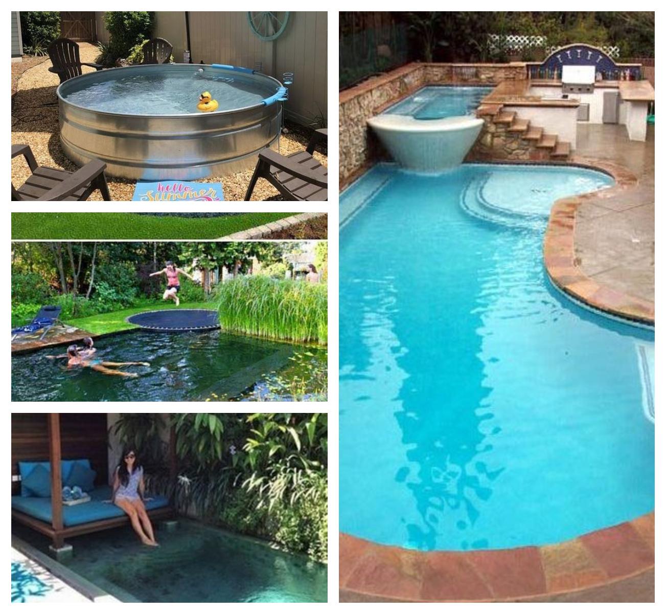 14 Kreative Diy Garten Pool Ideen :)