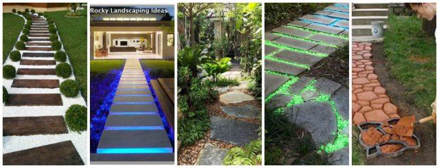 7+ Kreative (Diy)Ideen für schöne Gartenweg :) - nettetipps.de