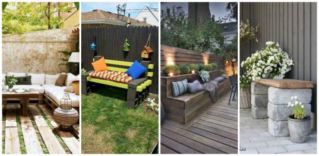 12 Kreative Inspirierende Diy Garten Sitzgelegenheit Ideen Nettetipps De