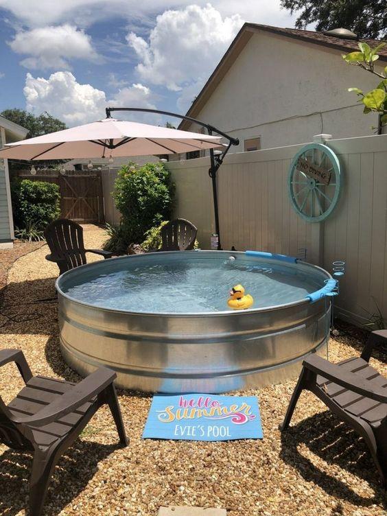 Schwimmbad im Garten selber bauen: 10 Diy-Ideen ...