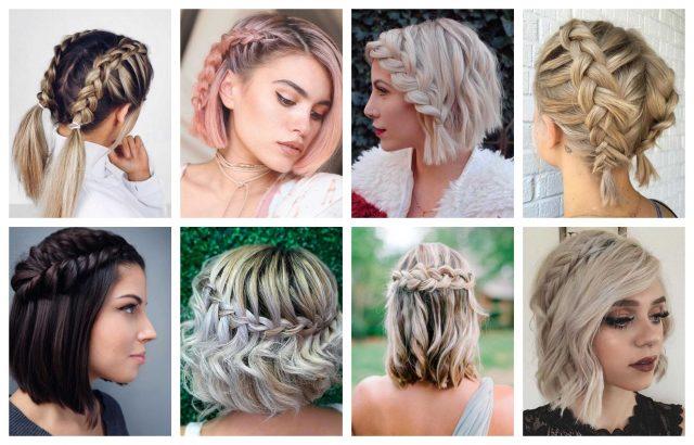 Schöne flechtfrisuren für kurze haare