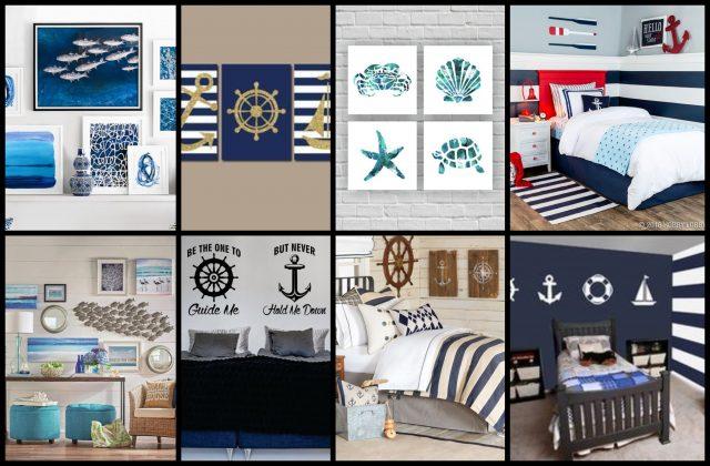 15 Maritime Deko- und Design- Ideen: Meer für dein Zuhause ...