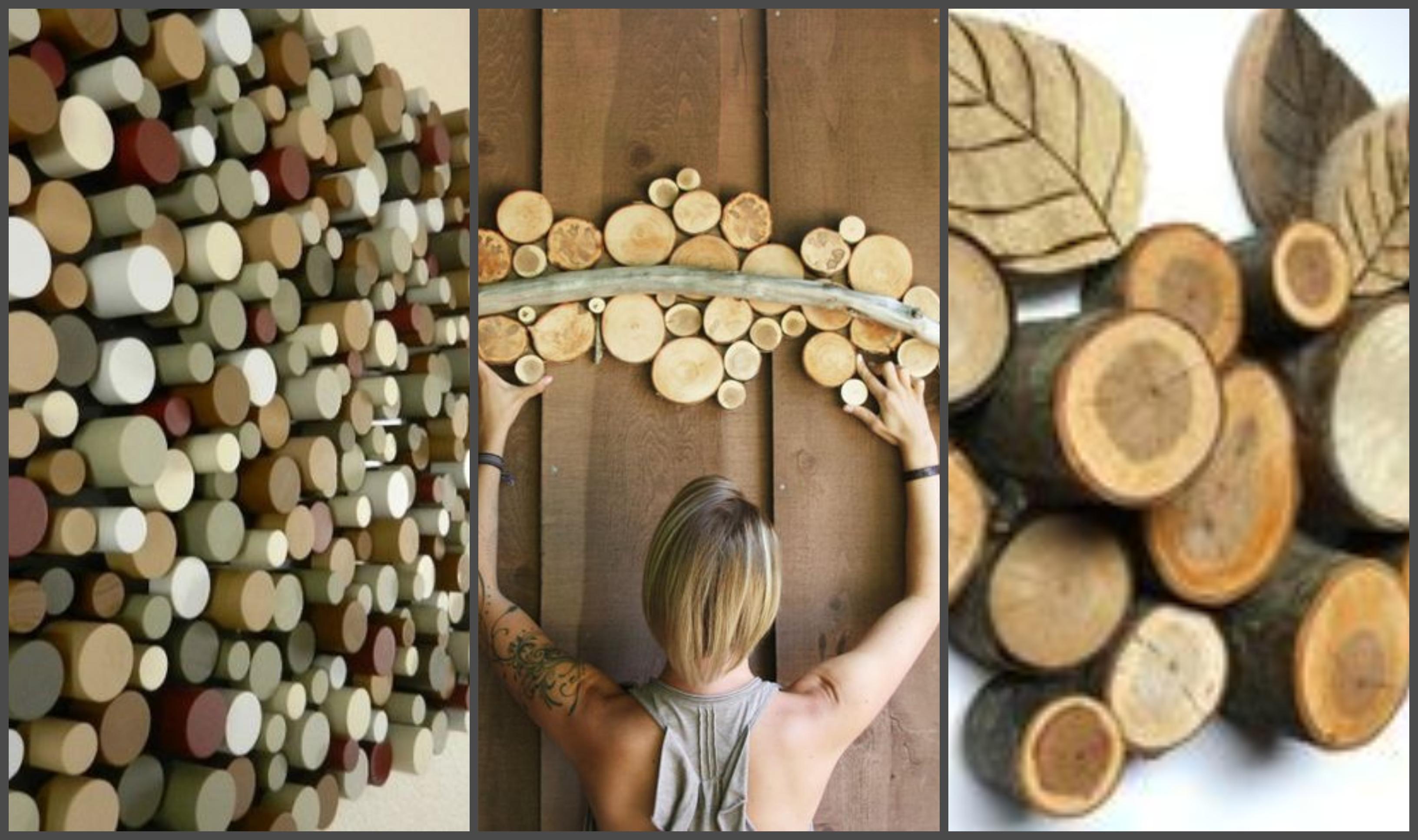 10 Kreative Wand Dekoideen aus Holz nettetipps
