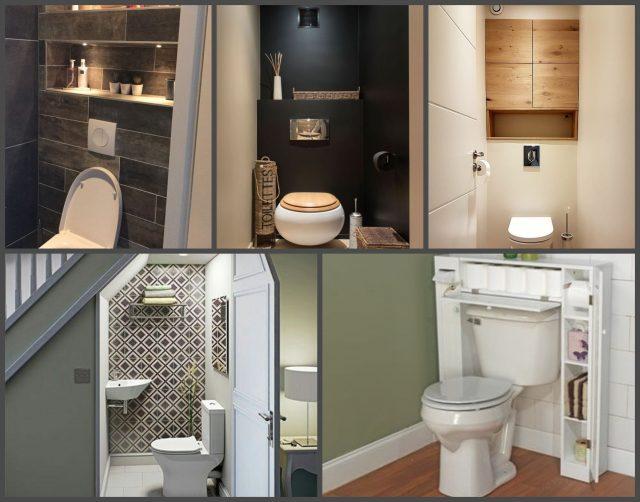 Ideen für Toilette - Gäste WC gestalten - nettetipps.de