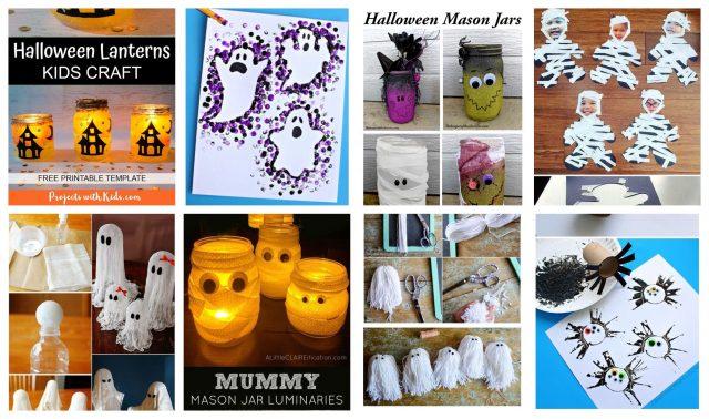 Mit Kindern zu Halloween basteln - einfache Ideen :) - nettetipps.de