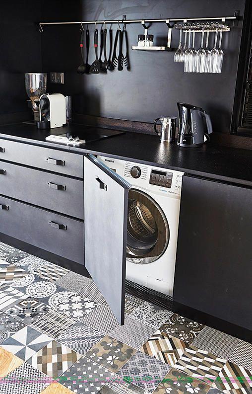 Waschmaschine verstecken - 10 elegante Ideen - nettetipps.de