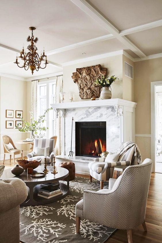 Klassische Wohnzimmer Inspirationen Nettetipps De