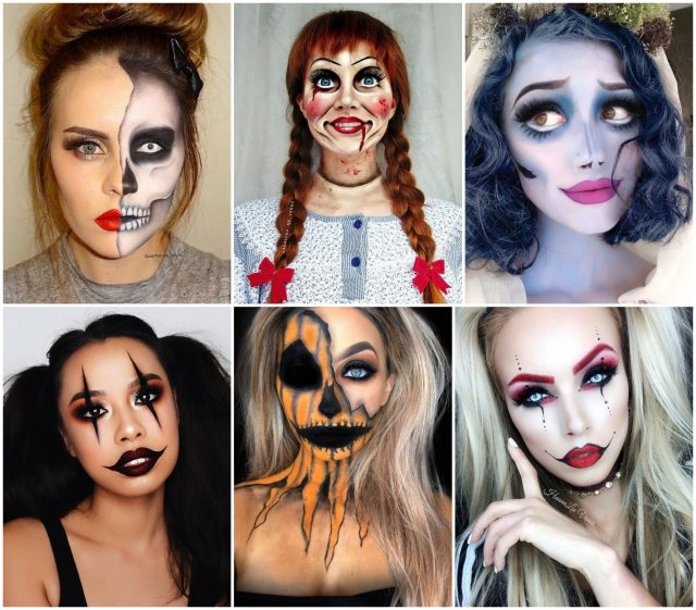 halloween schminken frauen