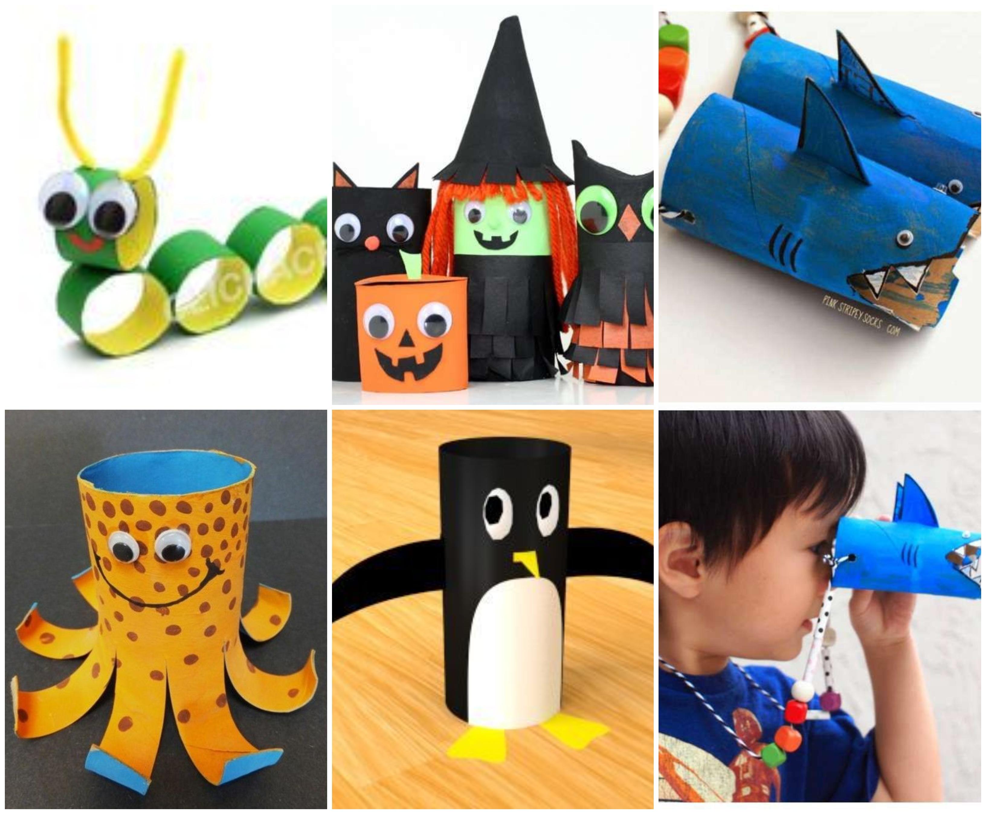 20 coole bastelideen mit klopapierrollen für kinder