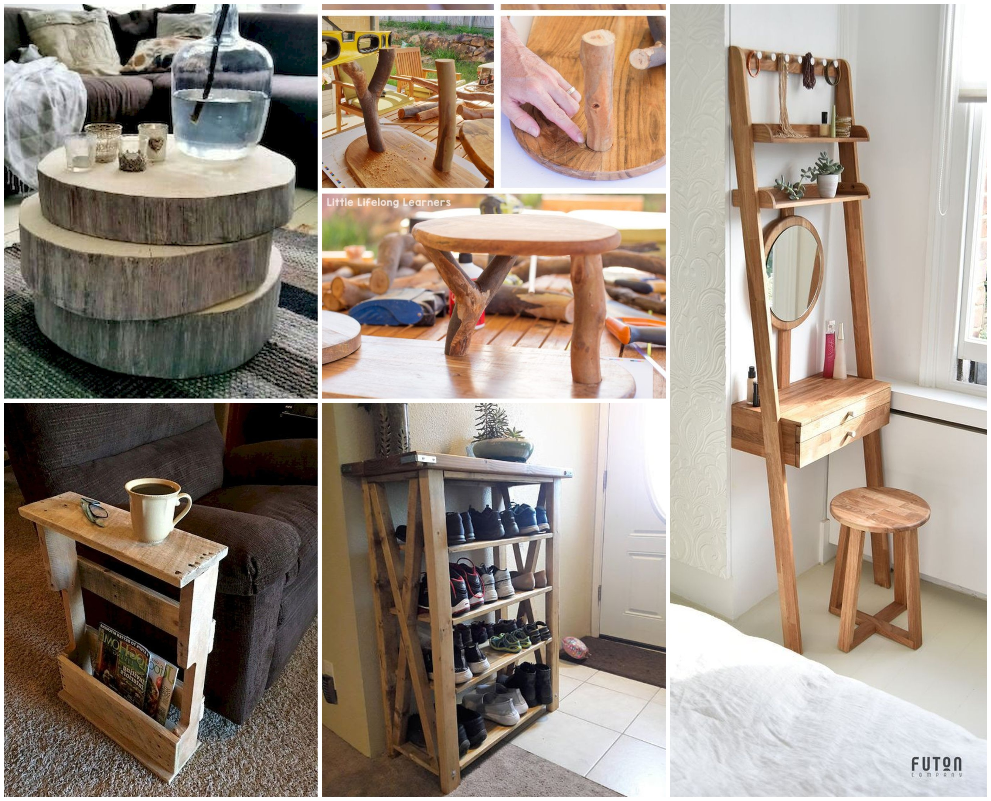 Möbel selber bauen - 10+ verschiedene kreative Ideen