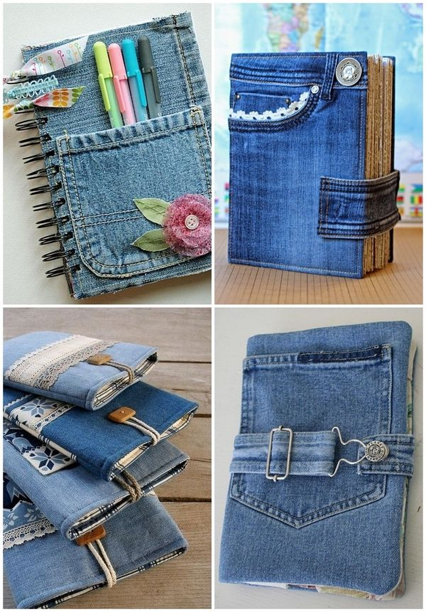Creative denim craft ideas tablet and book covers repurpose upcycle old jeans denim craft ideas diy.jpg