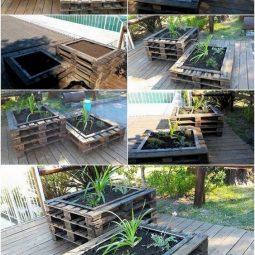 Paletten, Paletten im Garten, Ideen mit Paletten