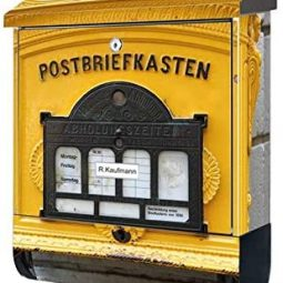 Briefkasten, originelle Briefkästen, Zeitung, Briefkasten