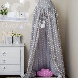 Kinderzimmer Zelt zum Aufhängen, Kinderzelt, Babybett Himmel, Versteck, Moskitonetz