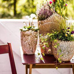 Außergewöhnliche Gartendekorationen für den Sommer :)