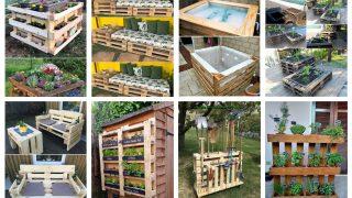 Den Garten mit Paletten gestalten - neue Ideen :)