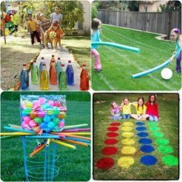 Spiele für draußen für Kinder