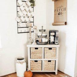 Cozy fall coffee station corner.jpg