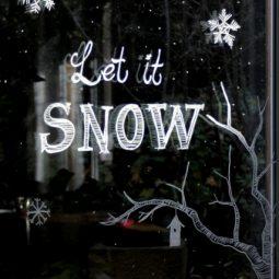 Fenster bemalen kreidestift fenstermarker edding advent winterliches fenster ideen window paint 2.jpg