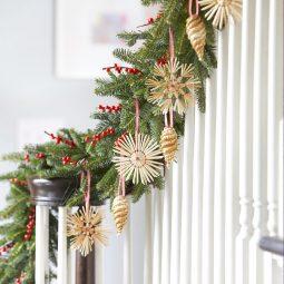 Christmas bannister wood ornaments.jpg