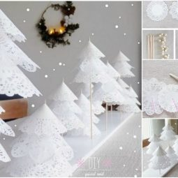 How to diy paper doily christmas tree.jpg
