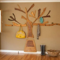 Diy tree coat rack storage organization 1.jpg
