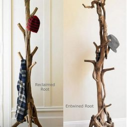 Diy tree coat rack storage organization 21.jpg