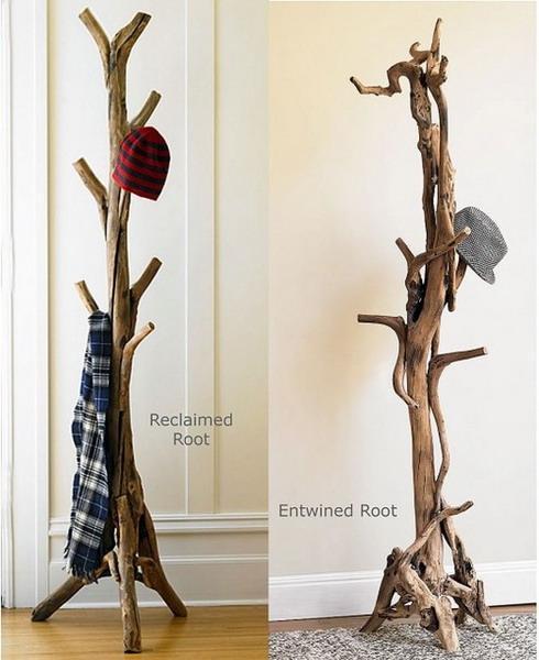 Diy tree coat rack storage organization 21.jpg