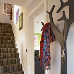 Diy tree coat rack storage organization 27.jpg