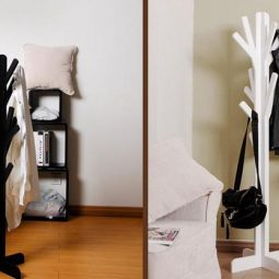Diy tree coat rack storage organization 28.jpg