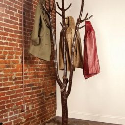 Diy tree coat rack storage organization 4.jpg
