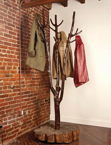 Diy tree coat rack storage organization 4.jpg