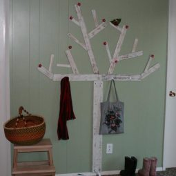 Diy tree coat rack storage organization 7.jpg